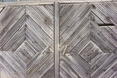 Ο εκλεκτής ποιότητας ξύλινος φράκτης με τα ίχνη παλαιού χρώματος, γρατζουνίζει και γρατσουνίζει Κινηματογράφηση σε πρώτο πλάνο φω Στοκ Εικόνες