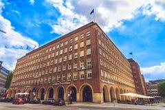 Ο εκδοτικός οίκος του κύβου Zeit στο Αμβούργο Στοκ Φωτογραφία