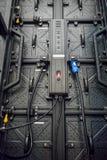 Ο ελεγκτής οθόνης των οδηγήσεων για τη βιομηχανική μηχανή στοκ φωτογραφίες με δικαίωμα ελεύθερης χρήσης