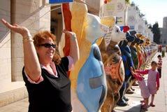 Ο ενωμένος φιλαράκος αντέχει στην Ιερουσαλήμ Ισραήλ στοκ φωτογραφίες