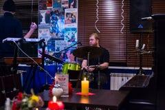 Ο εορτασμός της επετείου της λέσχης 12 βιβλίων καφέδων Στοκ Εικόνες