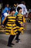 Ο εορτασμός της ημέρας του μελιού στη ρωσική πόλη Medyn, περιοχή Kaluga στις 14 Αυγούστου 2016 Στοκ Εικόνες