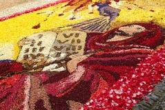 Ο εορτασμός του Corpus Christi Στοκ εικόνες με δικαίωμα ελεύθερης χρήσης
