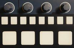 Ο επαγγελματίας κτύπησε τη συσκευή μηχανών για το συνθέτη μουσικής Στοκ εικόνα με δικαίωμα ελεύθερης χρήσης