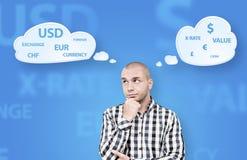 Ο επενδυτής είναι έτοιμος να κάνει ένα decission Στοκ εικόνα με δικαίωμα ελεύθερης χρήσης