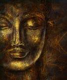 Ο επικεφαλής χαμογελώντας Βούδας Στοκ Εικόνες