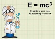 Ο επιστήμονας ήταν τόσο κοντά να γίνει διάσημος απεικόνιση αποθεμάτων