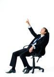 Ο επιχειρηματίας έχει μια ιδέα Στοκ Εικόνες