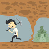 Ο επιχειρηματίας αποτυγχάνει διανυσματική απεικόνιση
