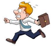 Ο επιχειρηματίας είναι πρόσφατος χρόνος διανυσματική απεικόνιση
