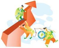 ο επιχειρηματίας πηγαίνε& Ελεύθερη απεικόνιση δικαιώματος