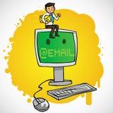 ο επιχειρηματίας υπολ&omicron ελεύθερη απεικόνιση δικαιώματος