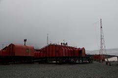 Ο ερευνητικός σταθμός Orcanadas Στοκ Εικόνα