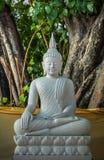 Ο λευκός Βούδας, Μπανγκόκ Ταϊλάνδη Στοκ Φωτογραφία