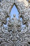 Ο λευκός Βούδας Στοκ Φωτογραφία