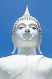Ο λευκός Βούδας Στοκ εικόνα με δικαίωμα ελεύθερης χρήσης