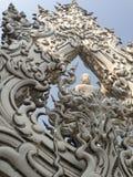 Ο λευκός Βούδας Στοκ φωτογραφίες με δικαίωμα ελεύθερης χρήσης