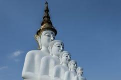 Ο λευκός Βούδας Στοκ Εικόνες