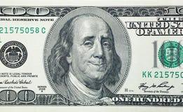 Ο ευτυχής Benjamin Franklin Στοκ Φωτογραφίες