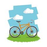 Οδηγήστε ένα σχέδιο ποδηλάτων Στοκ φωτογραφία με δικαίωμα ελεύθερης χρήσης