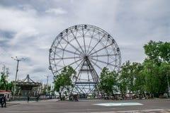 Οδηγήστε τη ρόδα Ferris Στοκ Φωτογραφίες