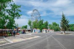 Οδηγήστε τη ρόδα Ferris Στοκ εικόνες με δικαίωμα ελεύθερης χρήσης