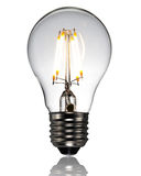 Οδηγημένη νέος τύπος λάμπα φωτός Στοκ Εικόνες