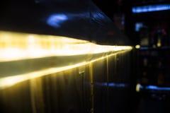 Οδηγημένη λουρίδα Στοκ φωτογραφία με δικαίωμα ελεύθερης χρήσης