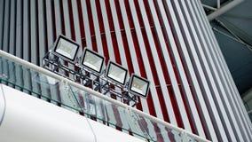 Οδηγημένος φωτισμός σημείων Στοκ φωτογραφίες με δικαίωμα ελεύθερης χρήσης