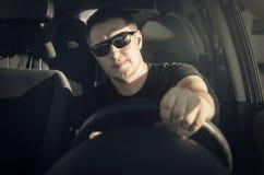 Οδηγός αυτοκινήτων Στοκ Φωτογραφία