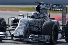 Οδηγός Ντάνιελ Ricciardo Αγώνας του Red Bull ομάδας Στοκ εικόνες με δικαίωμα ελεύθερης χρήσης