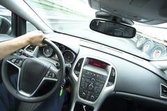 Οδηγός στο αυτοκίνητο Στοκ φωτογραφίες με δικαίωμα ελεύθερης χρήσης