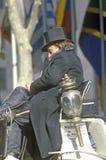 Οδηγός της horse-drawn μεταφοράς, κέντρο Rockefeller, Νέα Υόρκη Στοκ φωτογραφία με δικαίωμα ελεύθερης χρήσης