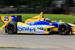 Οδηγός Marco Andretti Στοκ εικόνες με δικαίωμα ελεύθερης χρήσης