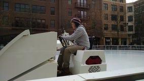 Οδηγός Zamboni Στοκ εικόνα με δικαίωμα ελεύθερης χρήσης