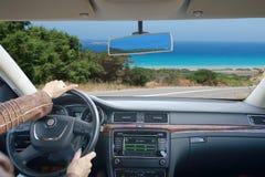 Οδηγώντας αυτοκίνητο στοκ φωτογραφία με δικαίωμα ελεύθερης χρήσης