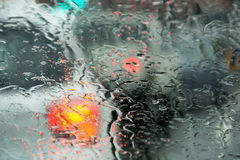 Οδηγώντας κίνδυνος Στοκ εικόνα με δικαίωμα ελεύθερης χρήσης