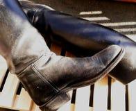 Οδηγώντας μπότες στοκ φωτογραφία με δικαίωμα ελεύθερης χρήσης