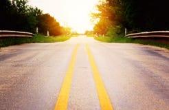οδηγώντας σπίτι Στοκ φωτογραφία με δικαίωμα ελεύθερης χρήσης