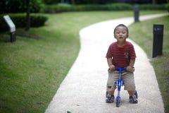 Οδηγώντας τρίκυκλο μωρών Στοκ φωτογραφία με δικαίωμα ελεύθερης χρήσης