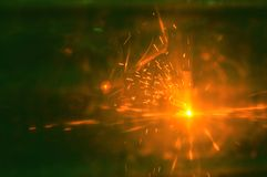 Ο ηλεκτρικός οξυγονοκολλητής παρασκευάζει το χάλυβα στο εργοστάσιο στοκ φωτογραφίες με δικαίωμα ελεύθερης χρήσης