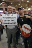 Ο δημοκρατικός Donald J Προεδρική συνάθροιση ατού η νύχτα πριν από το διαβούλιο της Νεβάδας, το ξενοδοχείο νότιου σημείου & τη χα Στοκ Φωτογραφίες