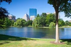 Ο δημόσιος κήπος στη Βοστώνη Στοκ φωτογραφίες με δικαίωμα ελεύθερης χρήσης