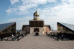 Οδησσός, μουσείο των πλωτών αγκυρών Στοκ εικόνα με δικαίωμα ελεύθερης χρήσης