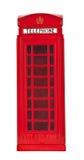 ο θάλαμος Βρετανοί τηλεφωνά Στοκ Εικόνα