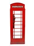 ο θάλαμος Βρετανοί τηλε& Στοκ φωτογραφία με δικαίωμα ελεύθερης χρήσης