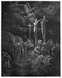 Ο θάνατος του Ιησού διανυσματική απεικόνιση