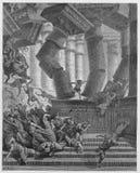 Ο θάνατος Samson ελεύθερη απεικόνιση δικαιώματος