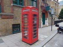 ο θάλαμος Βρετανοί τηλε& στοκ φωτογραφία
