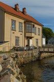 Ο θαλάσσιος βιολογικός σταθμός σε Drobak, πανεπιστήμιο του Όσλο, Νορβηγία Στοκ φωτογραφία με δικαίωμα ελεύθερης χρήσης